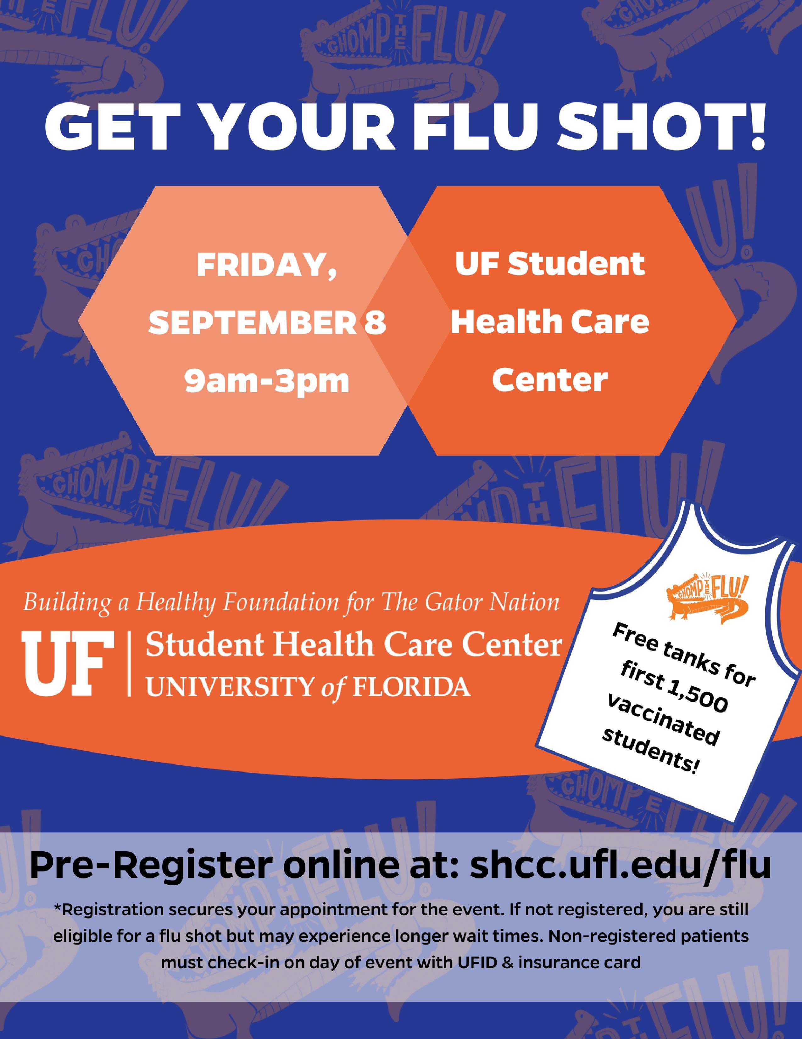 Flu Vaccine Flyers Free: Flu (Influenza) » Student Health Care Center » College Of