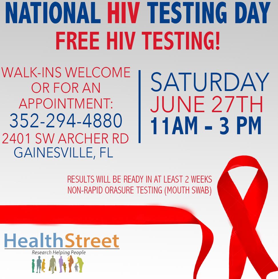 HIVTestingDay_HealthStreet